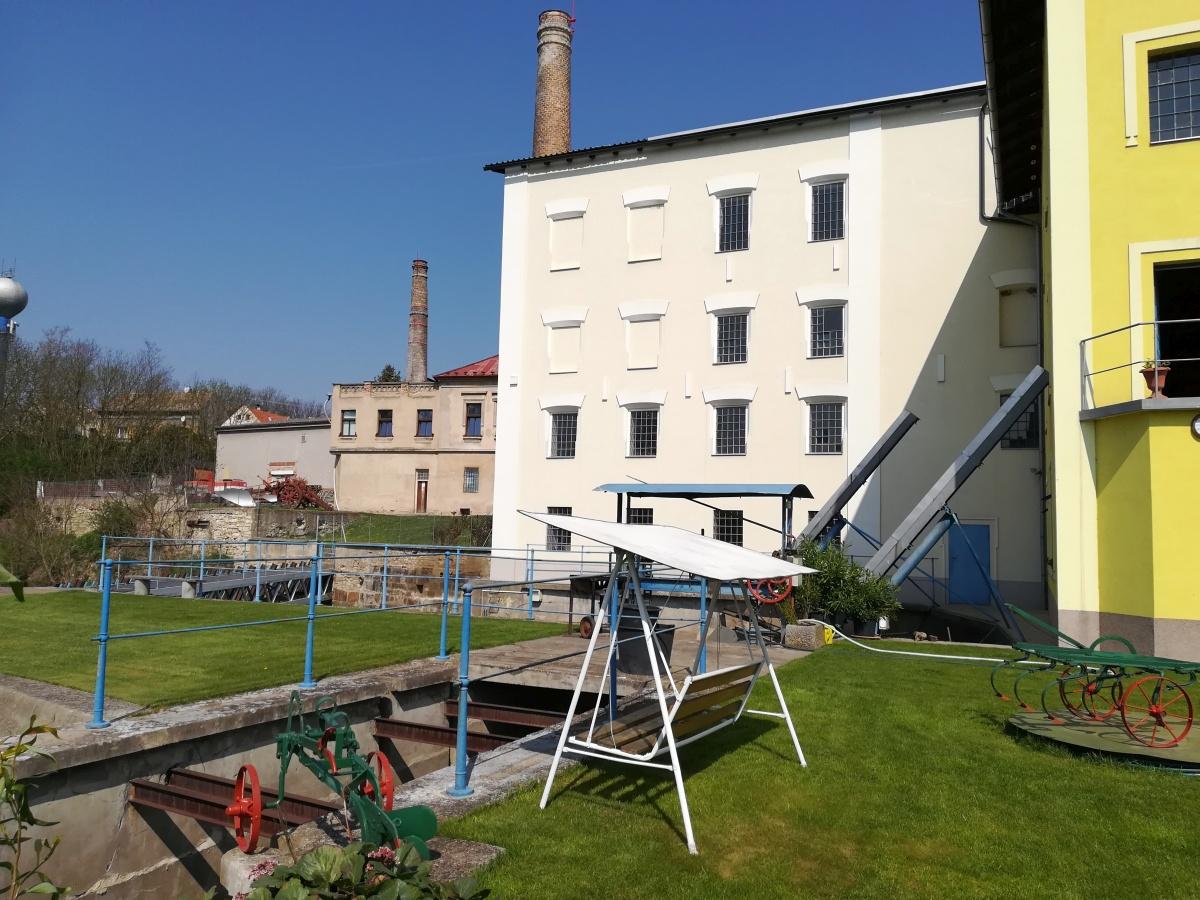Ortův mlýn - vodní elektrárna