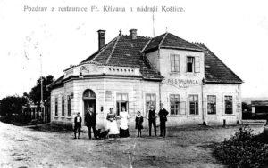 Nádražní restaurace, 1914