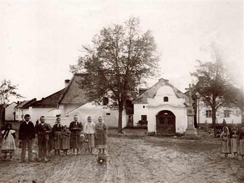 Vojnická kaple, 1890