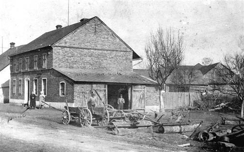 Vojnická kovárna, 1925