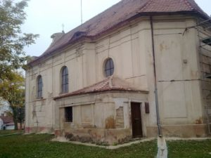 Kostel před opravou