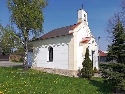 Kaple sv. Anděla Strážce ve Vojnicích