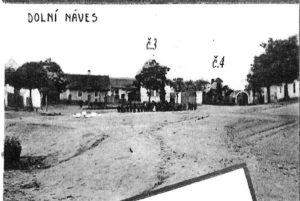 Dolní náves, 1912