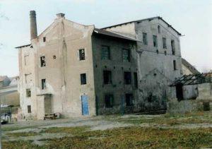 Ortův mlýn před rekonstrukcí, 90. léta