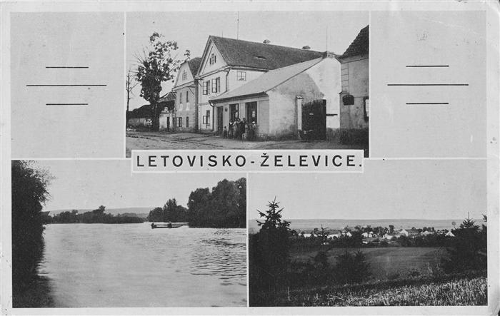 Historická fotografie Želevice